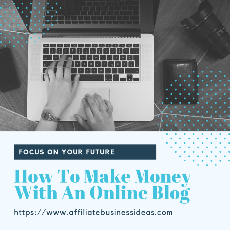 how to make money with an online blog