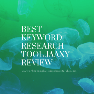 Keyword Tool Jaaxy Review