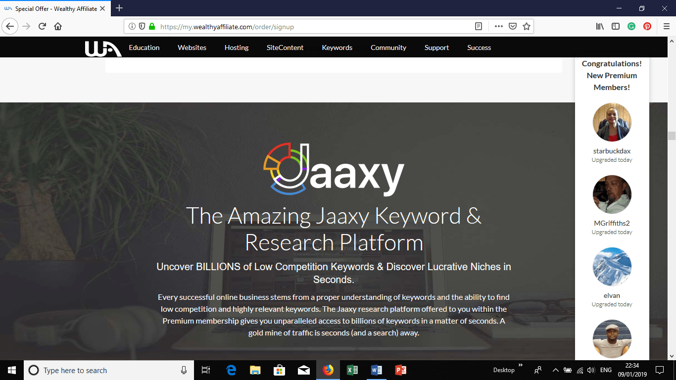 Honest Jaaxy Review