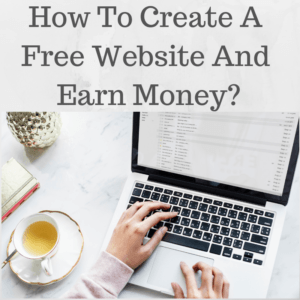 Earn money with free website