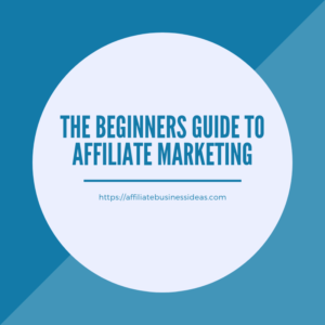 affiliate business guide for beginners