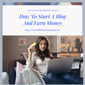 start your blog and earn money